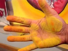 Pastel hand 2